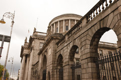 four courts side angle