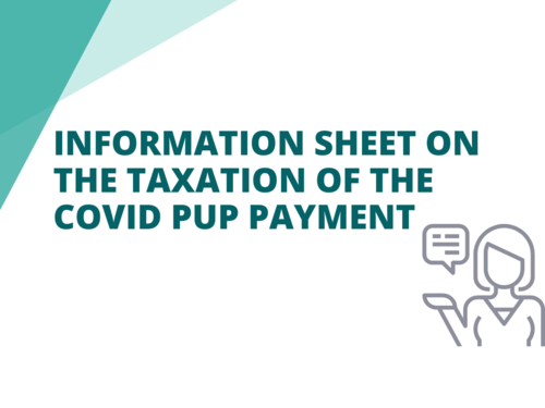 Copy of taxation of Covid PUP Payment