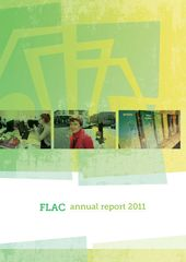 Publication cover - FLAC Annual Report 2011